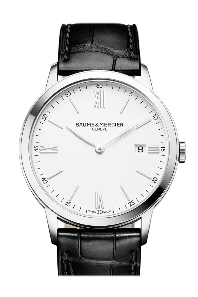 Baume & Mercier Classima Quartz Silver Dial 10097 Watch