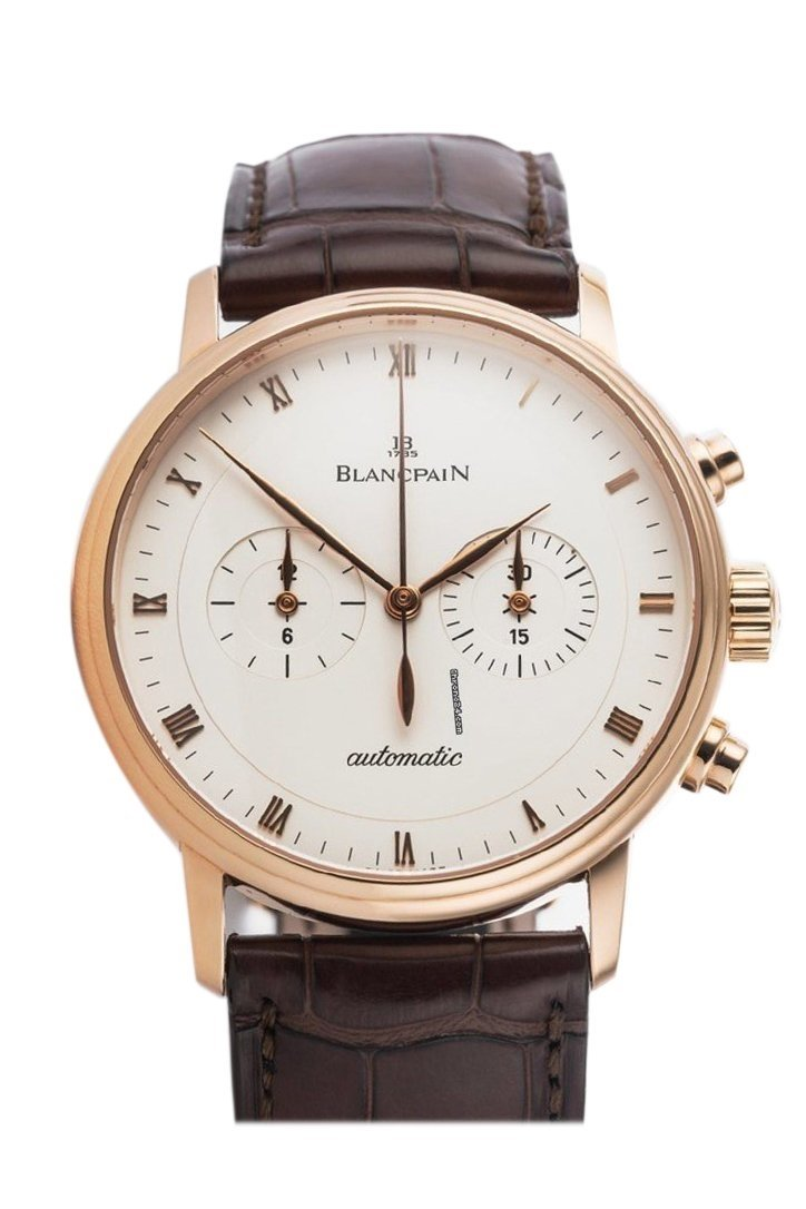 Blancpain Mens Watch 4082-3642-55 Ivory