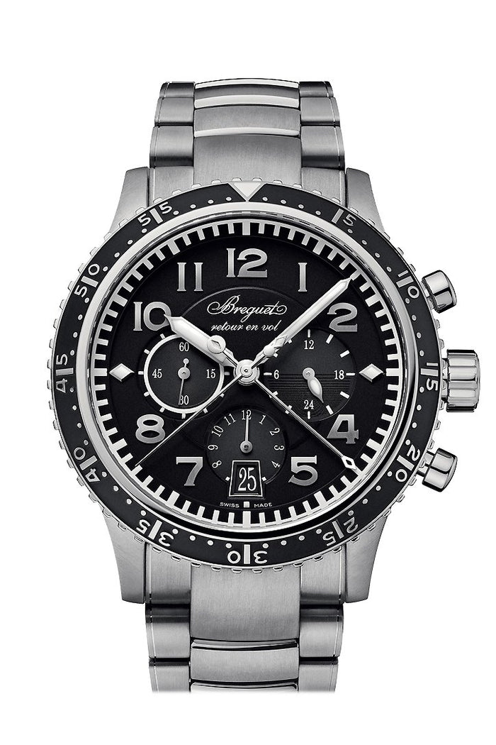 Breguet Type XXI Flyback Mens Watch 3810TIH2TZ9