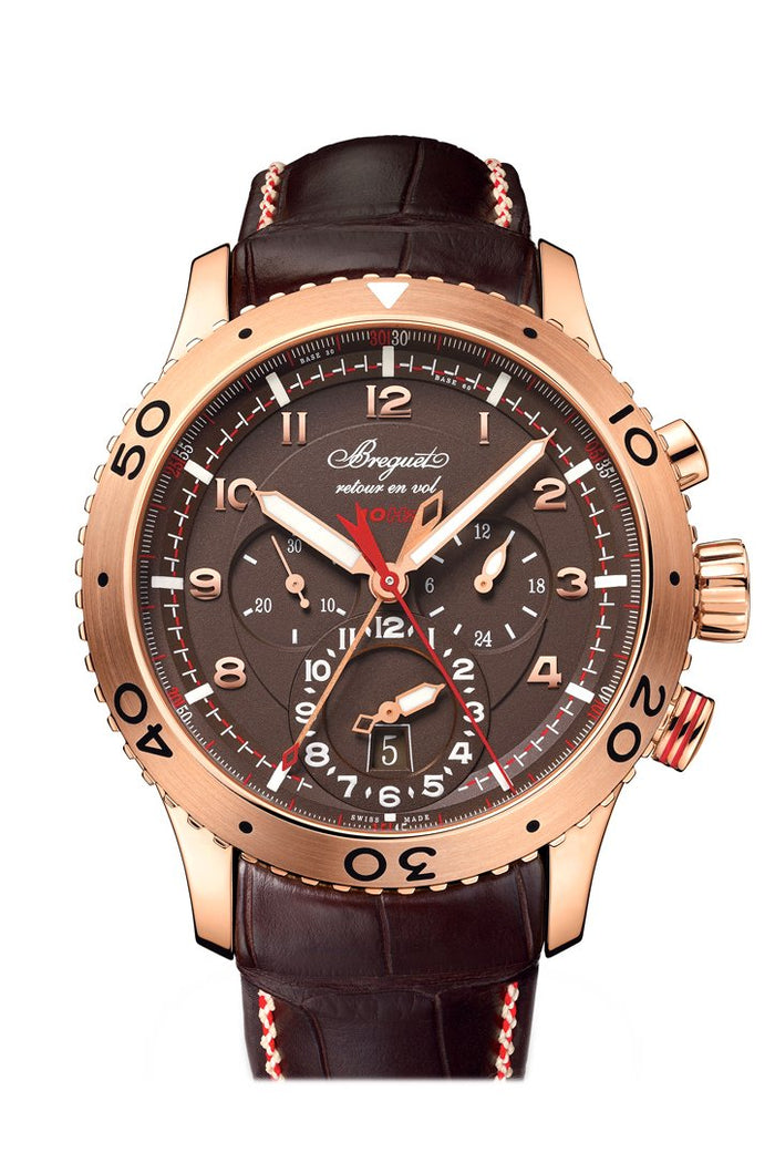 Breguet Transatlantique Type XXII Flyback Men's Watch 3880BRZ29XV