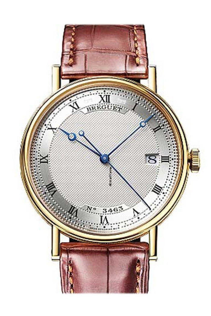 Breguet Classique Automatic 38mm in Yellow Gold  Silver Dial 5177BA159V6