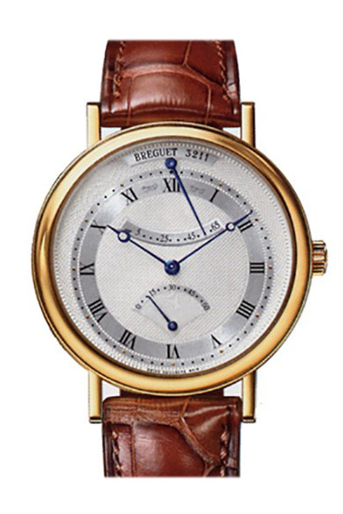 Breguet Classique Yellow Gold Retrograde Seconds Watch 5207BA129V6