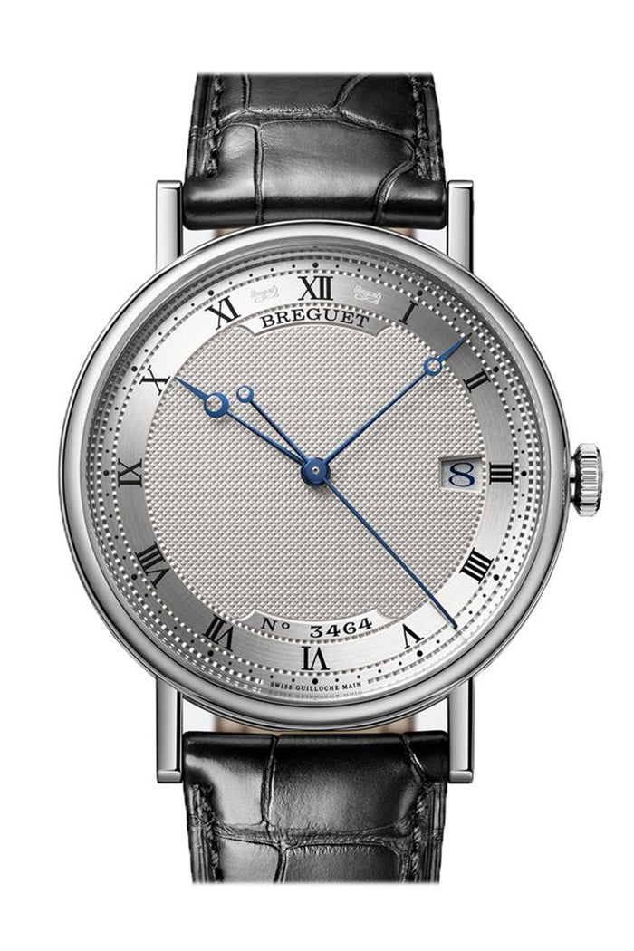 Breguet Classique Automatic White Gold with Silver Roman Dial 5177BB159V6