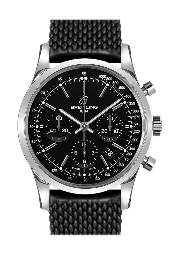 Breitling Transocean Chronograph Mens Watch AB015212/BA99-278S