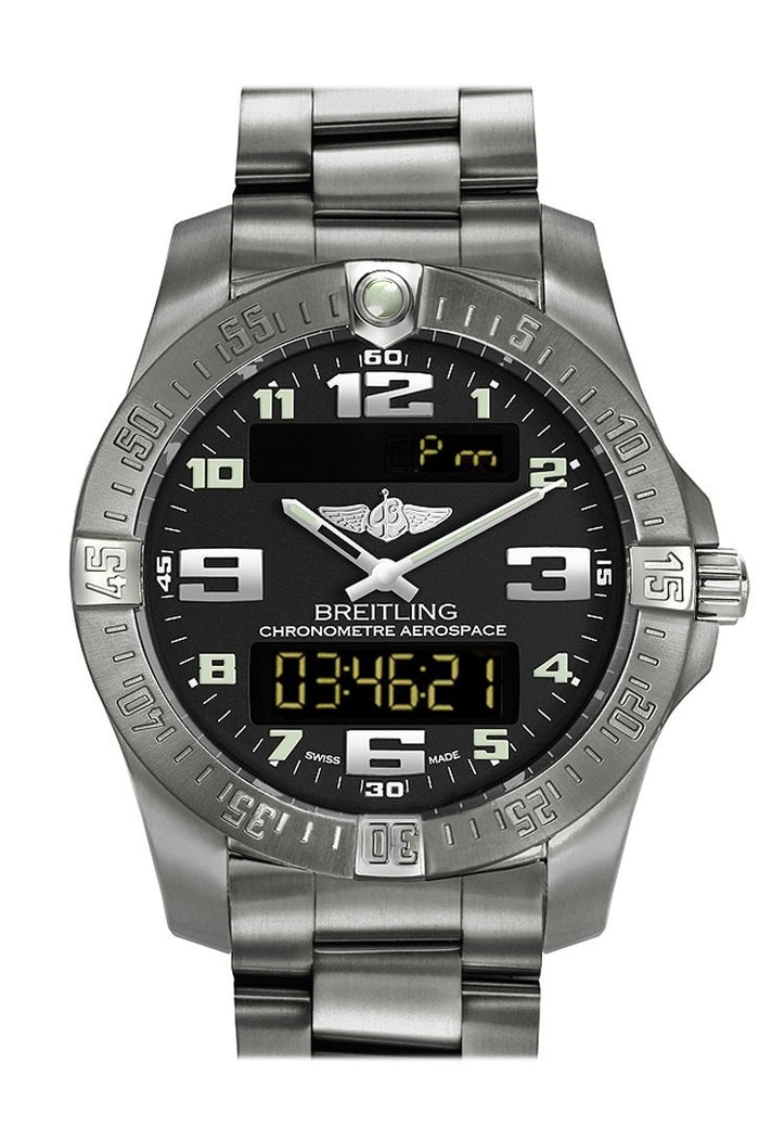 Breitling Professional Aerospace Evo Mens Watch E7936310/BC27-152E