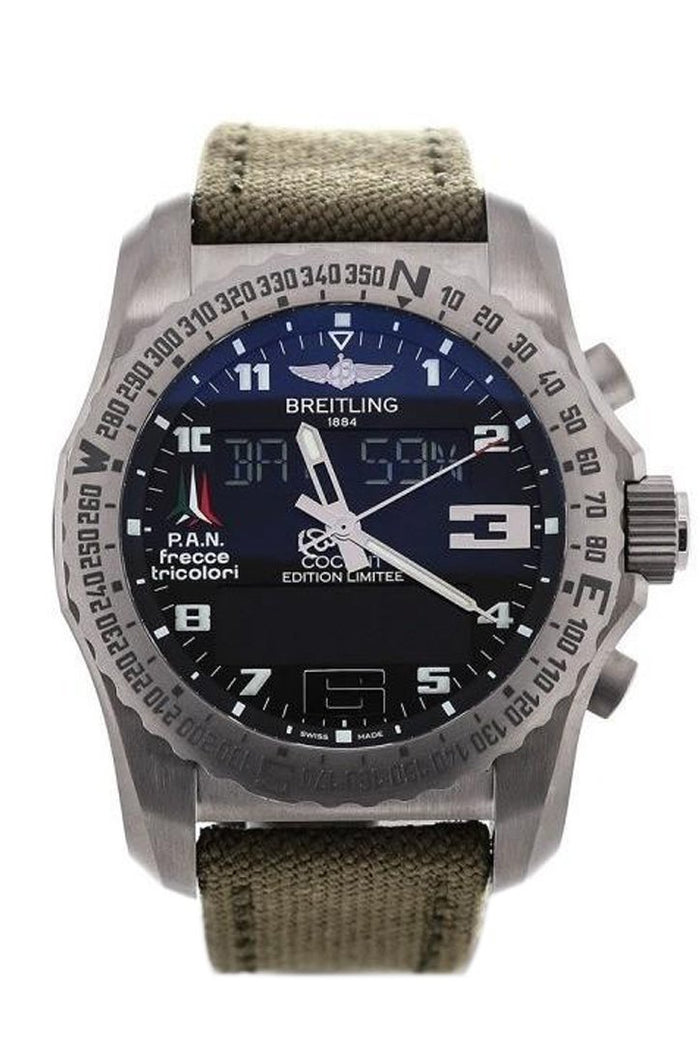 Breitling Professional Cockpit Limited Edition Men's Watch EB50102W/BE38/105W