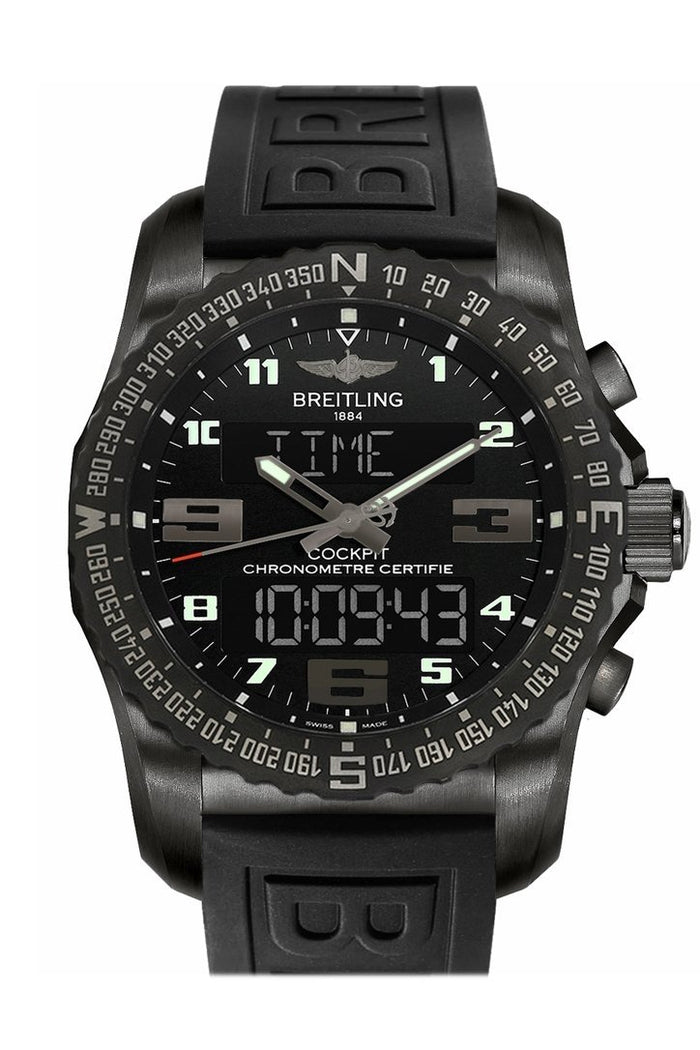 Breitling Cockpit B50 Titanium Analog-Digital Men's Watch VB501022/BD41/155S