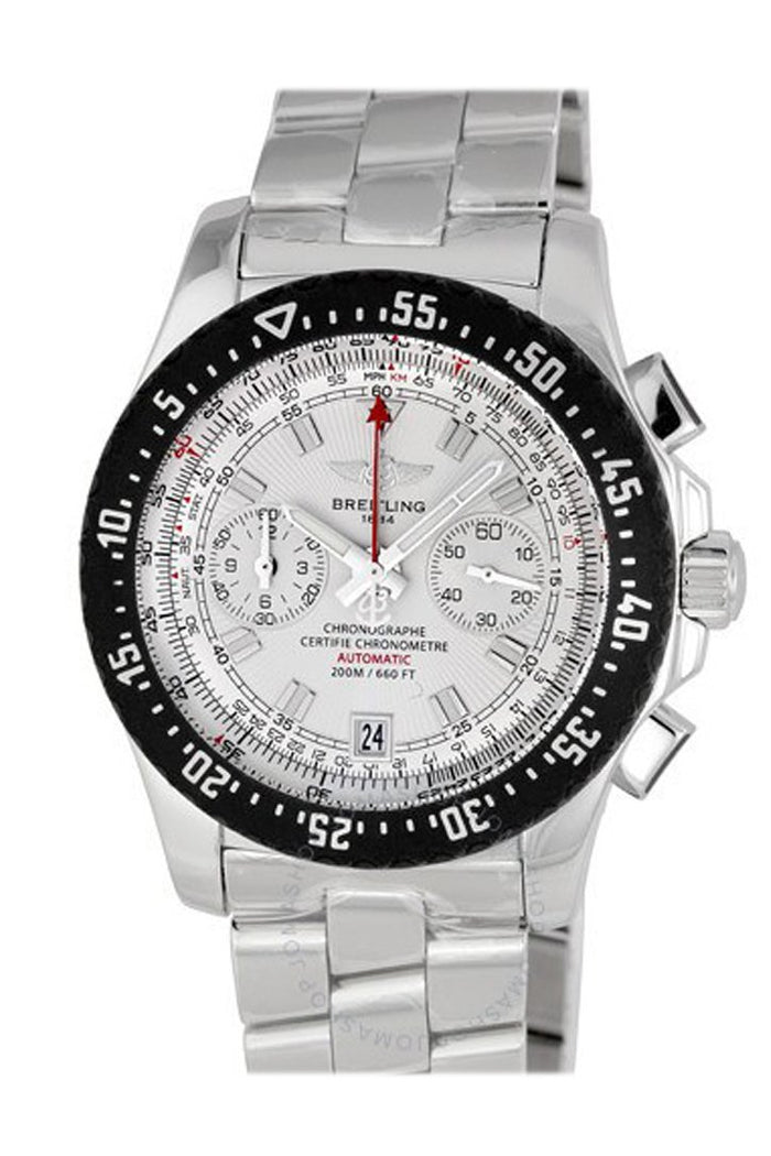 Breitling Skyracer Raven Silver Dial Men's Watch A2736434 F532
