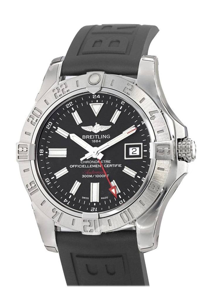 Breitling Avener II GMT Black Dial Men's Watch A3239011-BC35