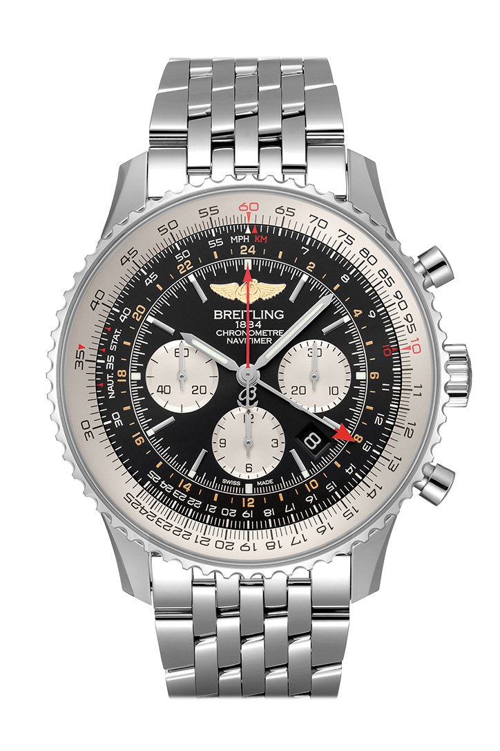Breitling Navitimer Gmt Mens Watch Ab044121