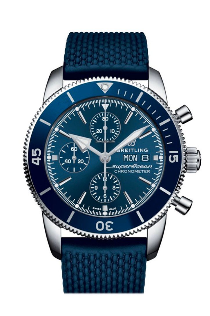 Breitling Superocean Heritage II Blue Dial Men's Watch AB2030161-C1S1