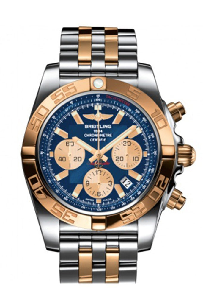 Breitling Chronomat Steel And Rose Gold Mens Watch Cb0110121 Watch