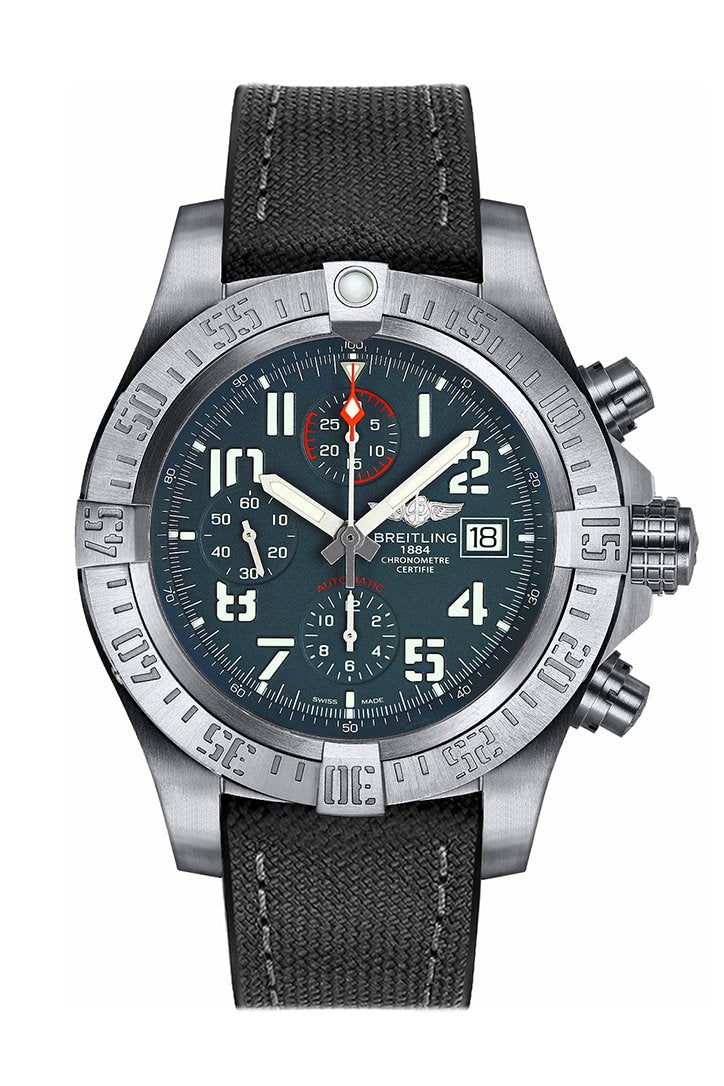 Breitling Avenger Bandit Black Canvas Men's Watch E1338310-M534