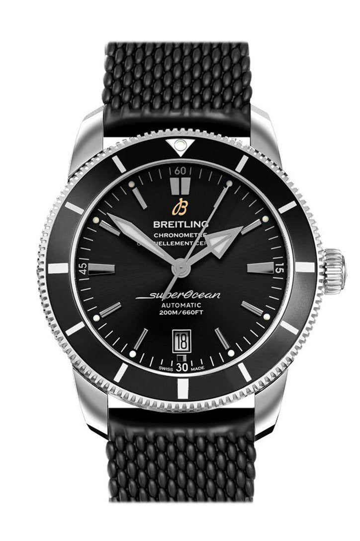 BREITLING Superocean Heritage II Automatic Chronometer Black Dial Men's Watch AB2010121 B1S1