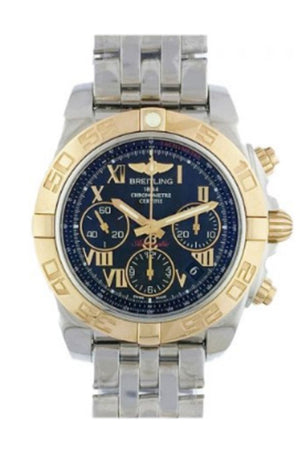 Breitling Chronomat Stainless Steel With Yellow Gold Watch CB014012 BC08 378A