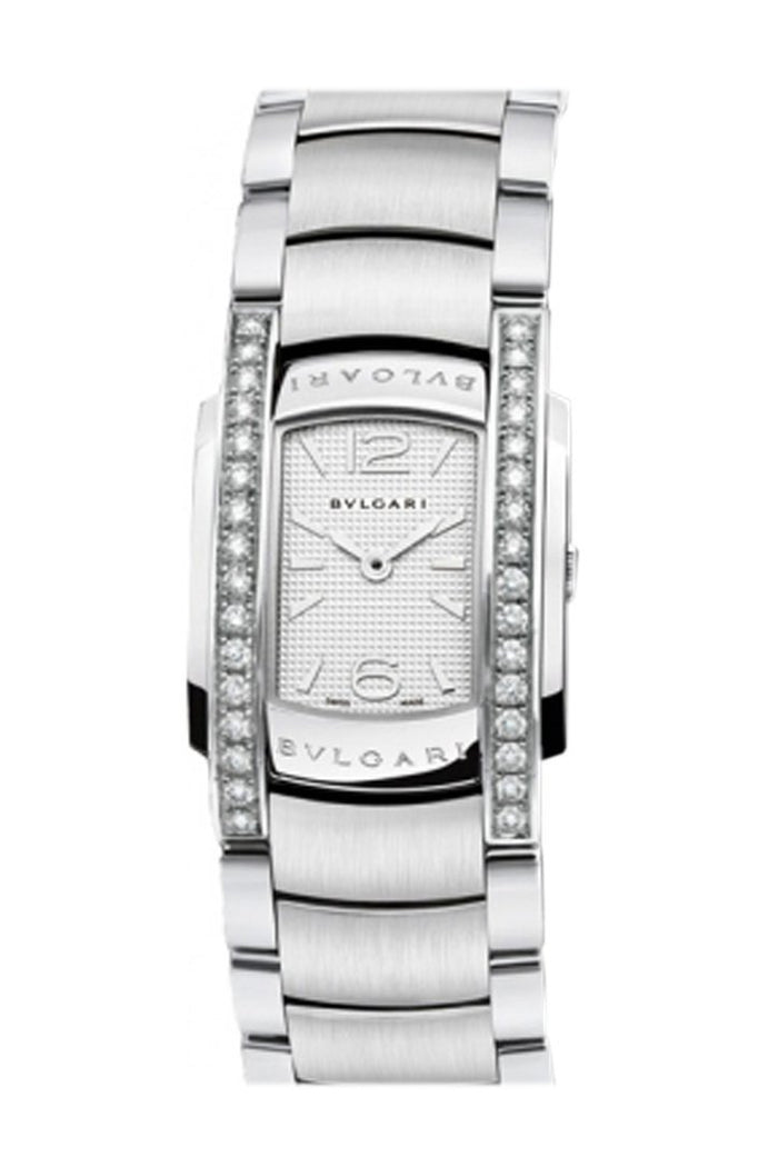 Bulgari Assioma Silver Dial Stainless Steel Ladies Watch AA35C6SDS