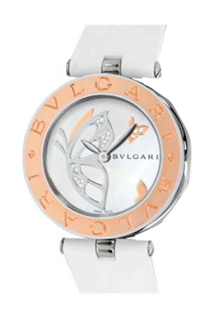 Bulgari B.zero1 Quartz 30Mm White Ladies Watch 101979 Bz30Bdsgl