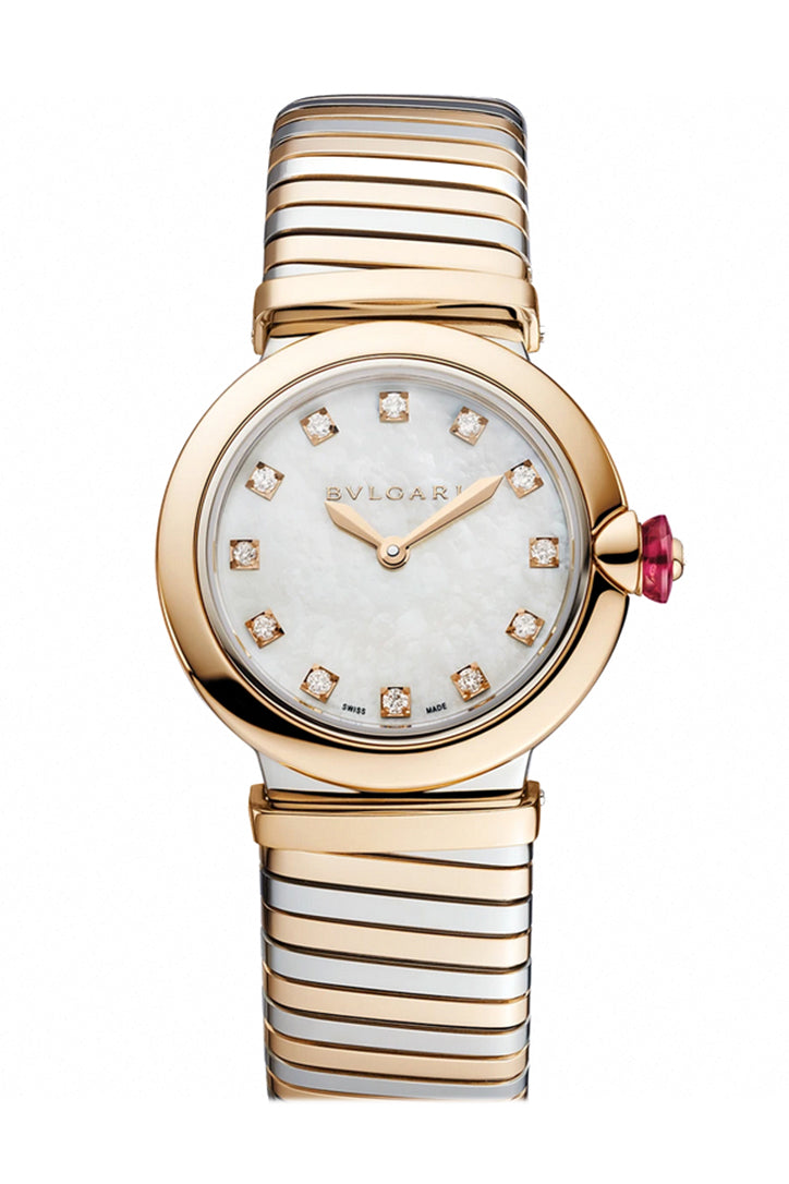 Bvlgari Bulgari LVCEA Lucea Quartz 28mm Watch 102952