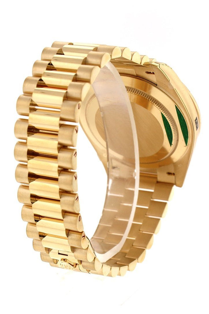 Rolex Day-Date 40 Champagne Dial 18K Yellow Gold President Automatic Mens Watch 228238