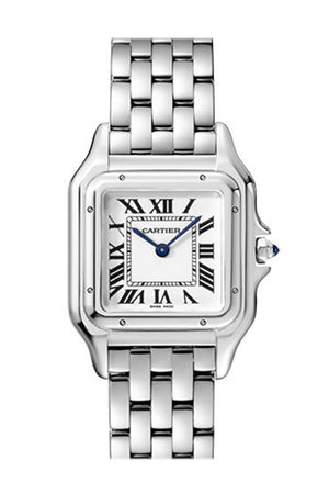 Cartier Panthere de Medium Silver Dial Ladies Watch WSPN0007
