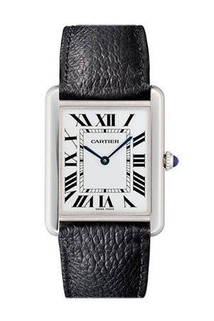 Cartier Tank Solo Large Opaline Dial Ladies Watch WSTA0028