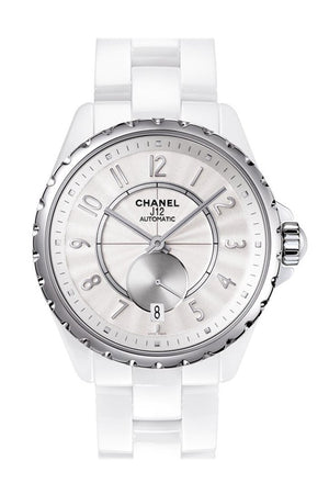 Chanel J12 Automatic White Dial Ceramic Unisex Watch H3837