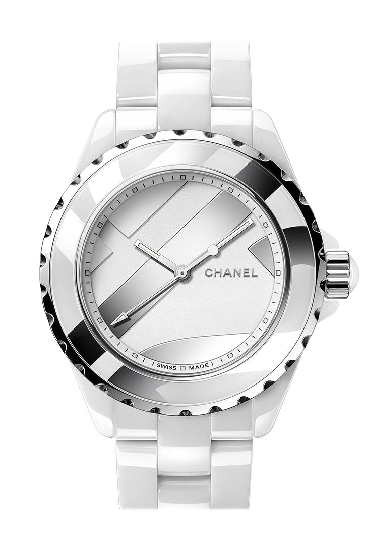 CHANEL Code Coco Black Lacquered Dial Ladies Watch H5144