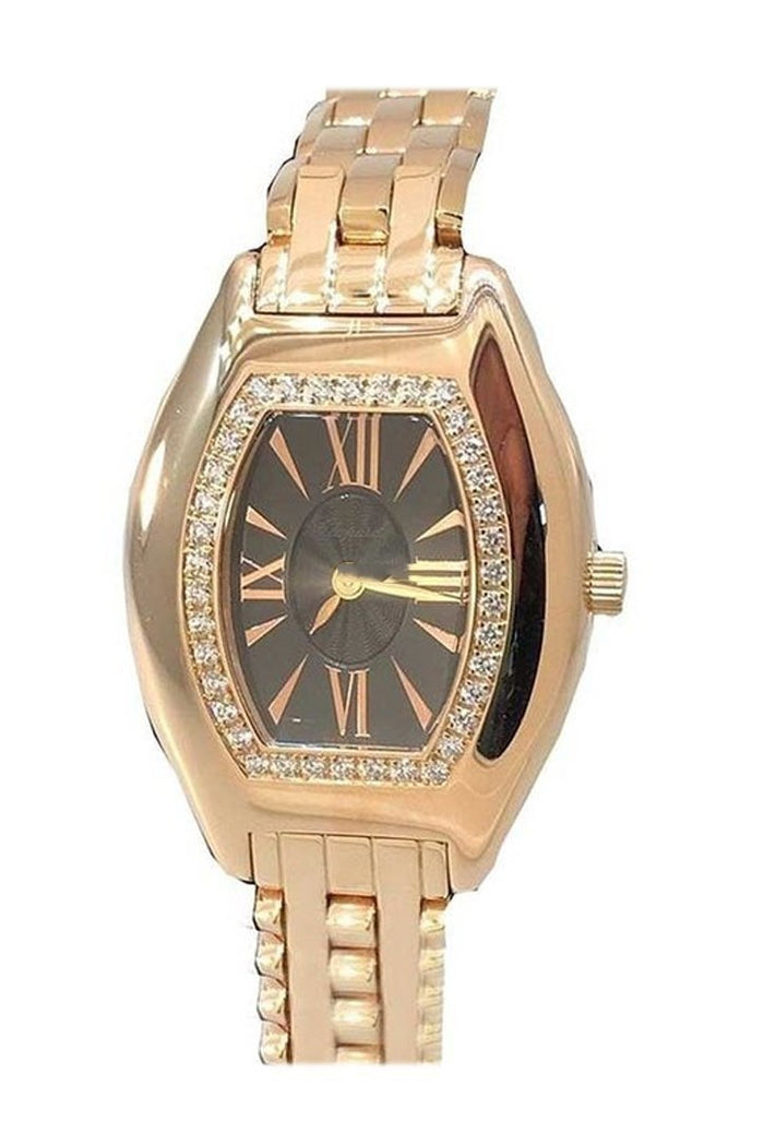 Chopard Happy Sport Diamond Brown Dial Ladies Watch 109191-5001