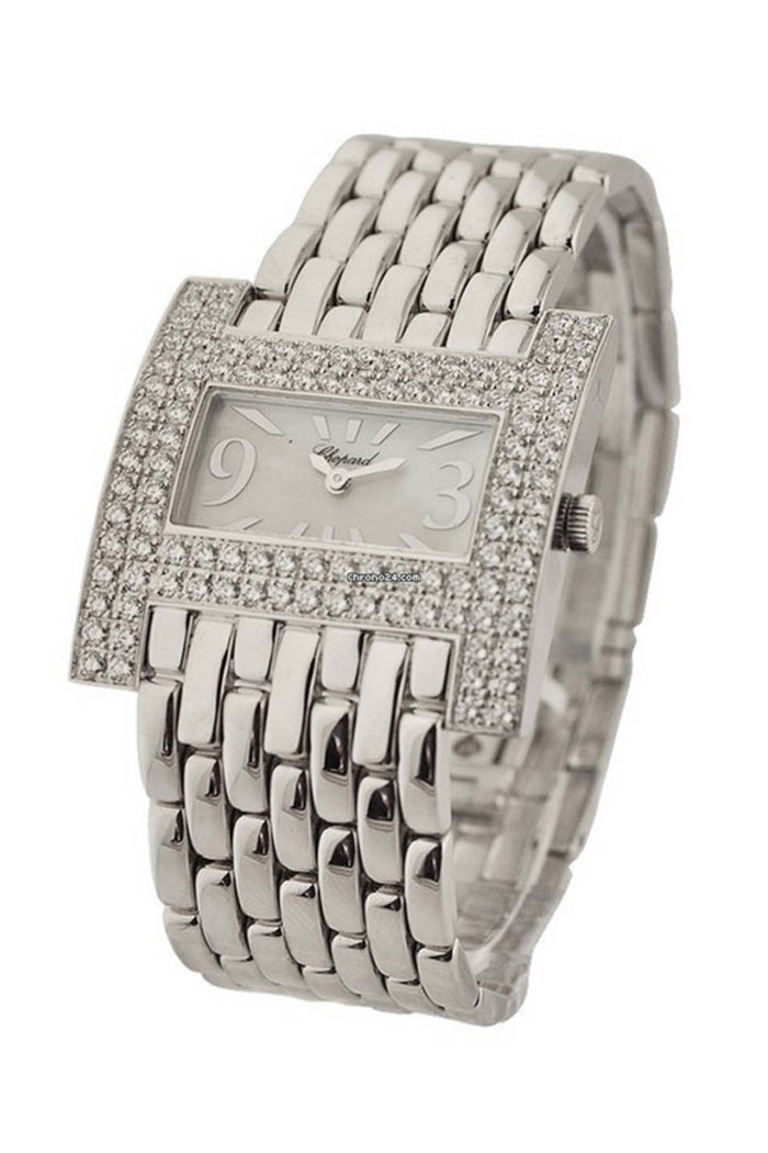 Chopard Classique Diamond White Dial Ladies Watch 109224-1001