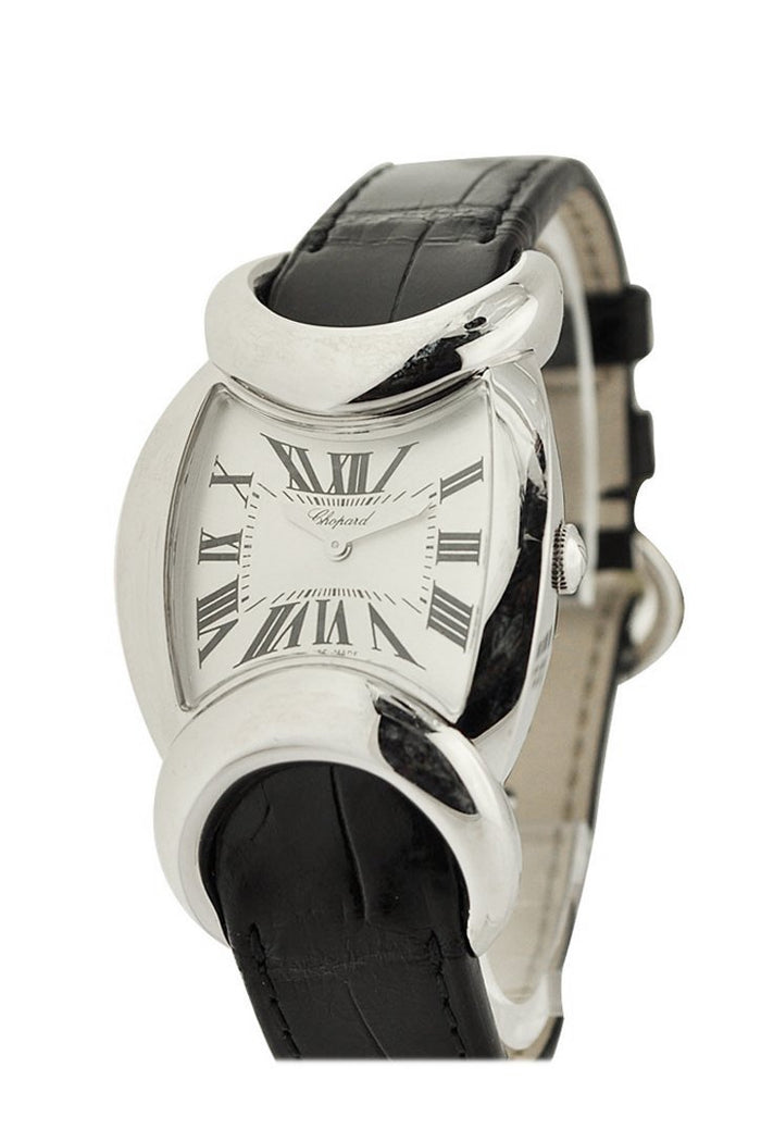 Chopard Carissima White Dial Watch 129333-1001