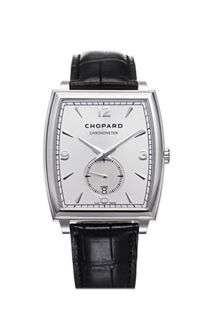 Chopard L.u.c. Xp Automatic Silver Dial 18 Kt White Gold Mens Watch 162294-1001