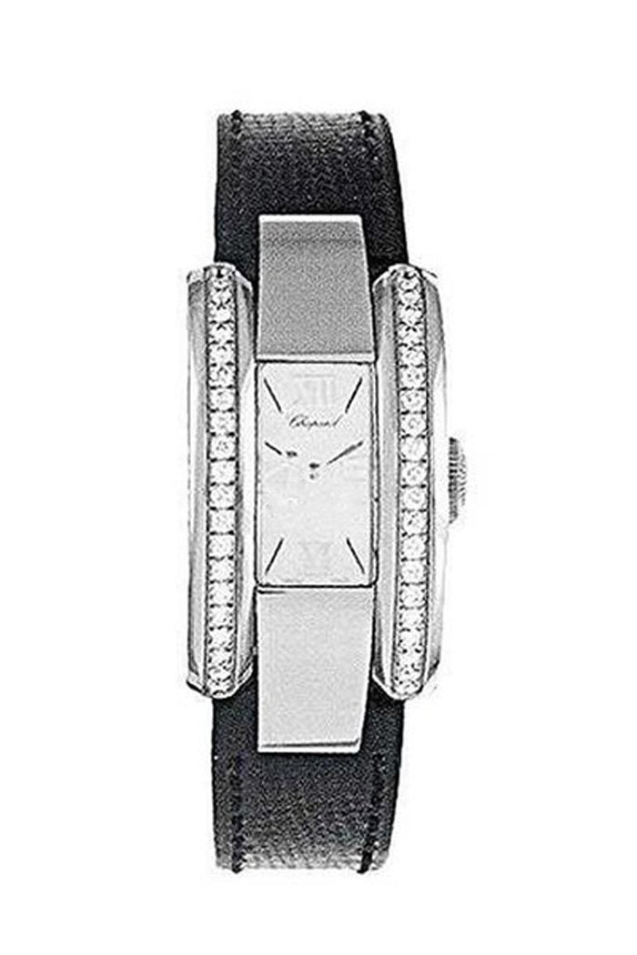 Chopard La Strada SS on Strap with Diamond Bezel 418445-3001