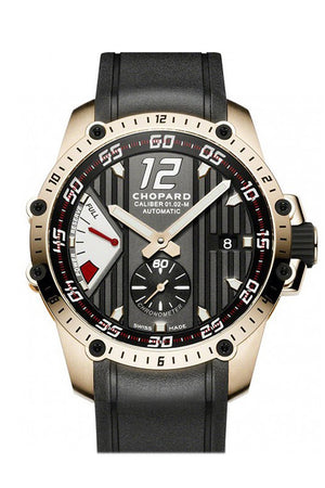 Chopard Classic Racing Superfast Rose Gold Black Dial 161291/5001 Watch