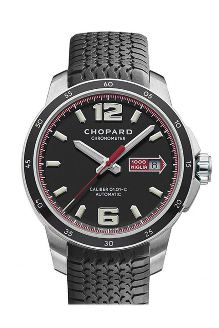 Chopard GTS Black Rubber Black Dial 168565/3001