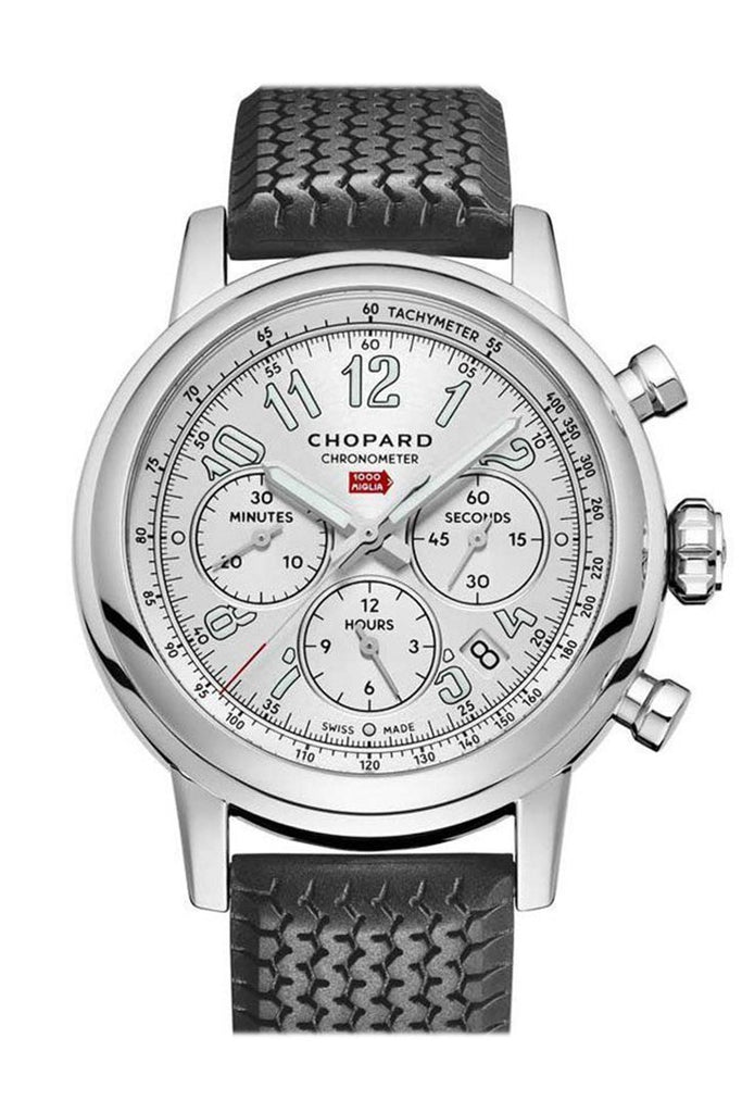 Chopard Mille Miglia Black Rubber Silver Dial 168589/3001 Watch