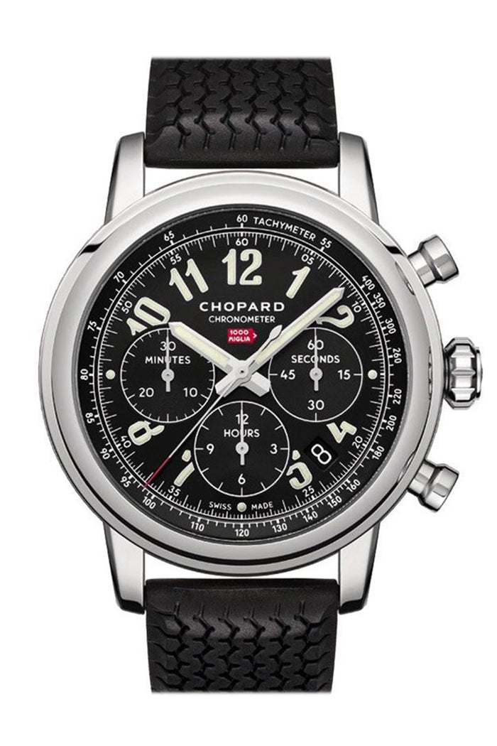 Chopard Mille Miglia Black Rubber Black Dial 168589/3002