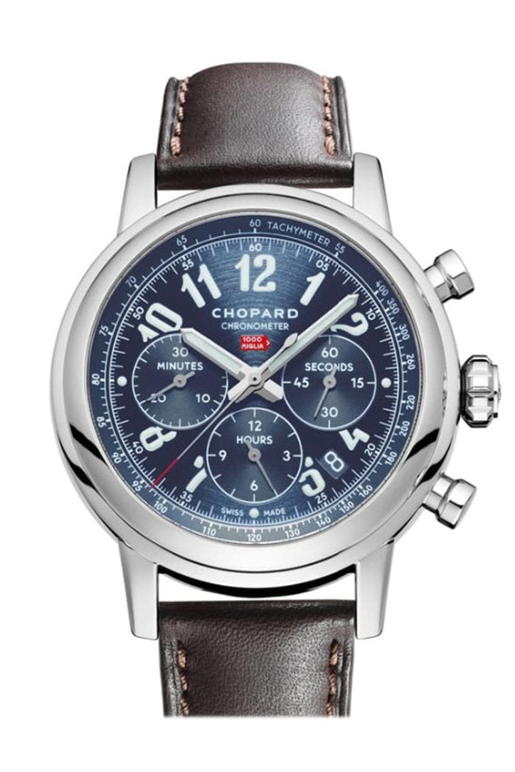 Chopard Mille Miglia Leather Blue Dial 168589/3003