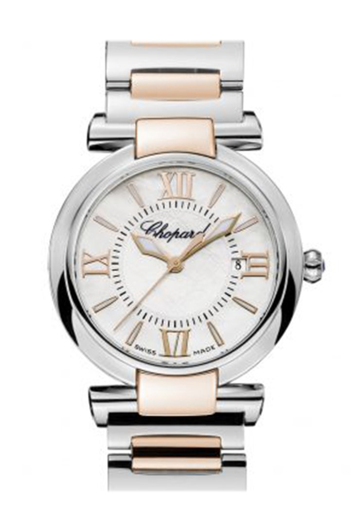 Chopard Imperiale Steel Rose Gold White 388541-6002 Watch