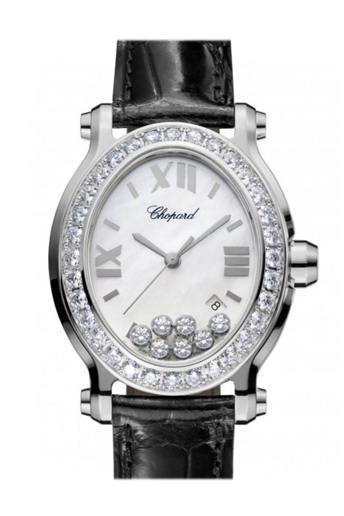 Chopard Happy Sport Oval Quartz Ladies Watch 278546-3002