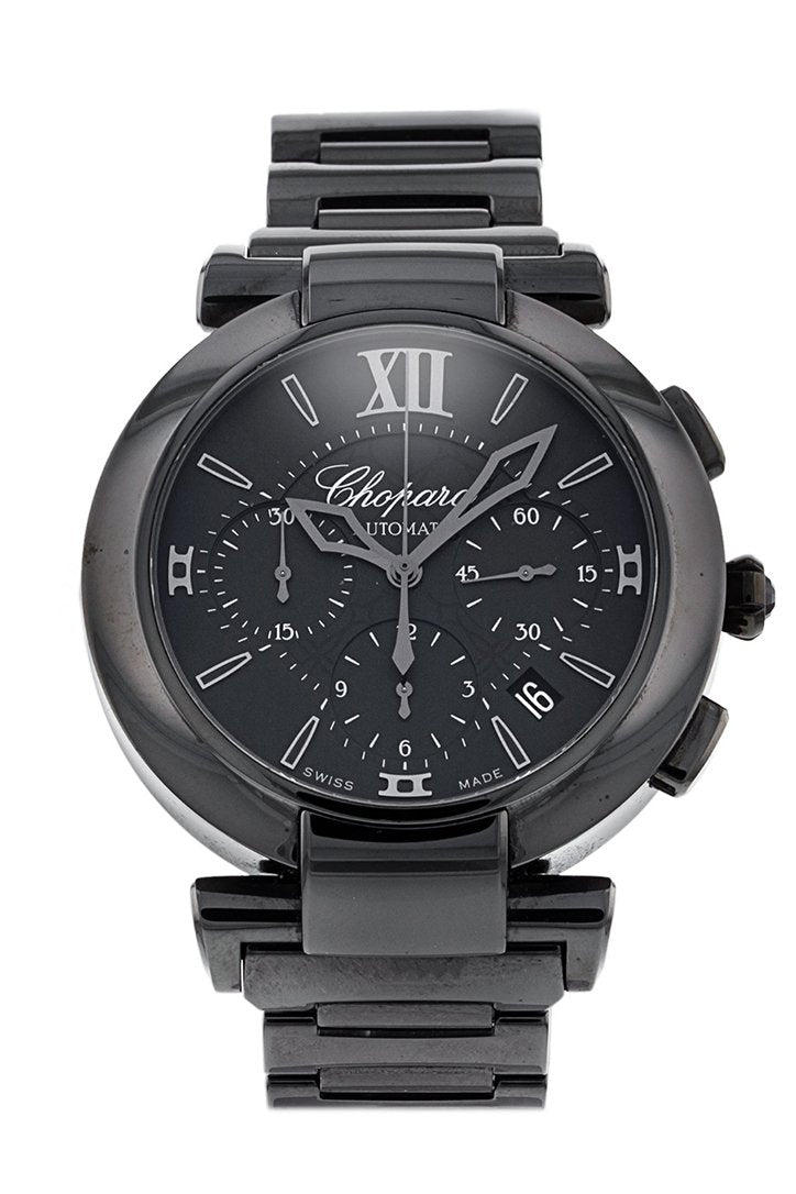 Chopard Imperiale Automatic Chronograph Black Dial Men's Watch 388549-3005