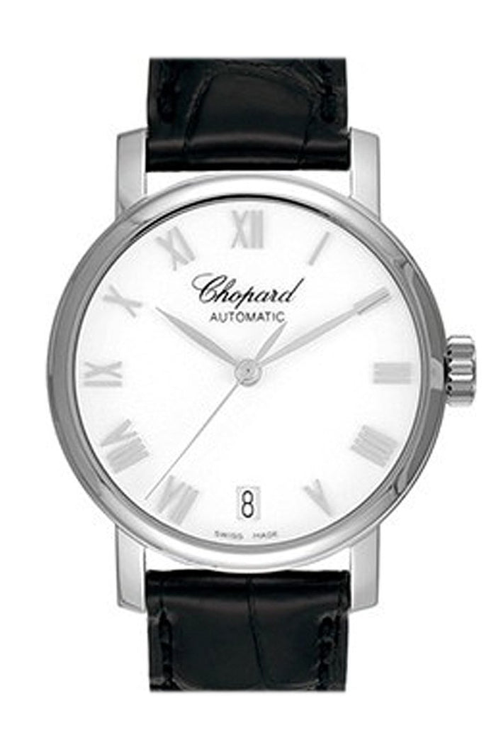 Chopard Classic White Dial 33mm White Gold Ladies Watch 124200-1001