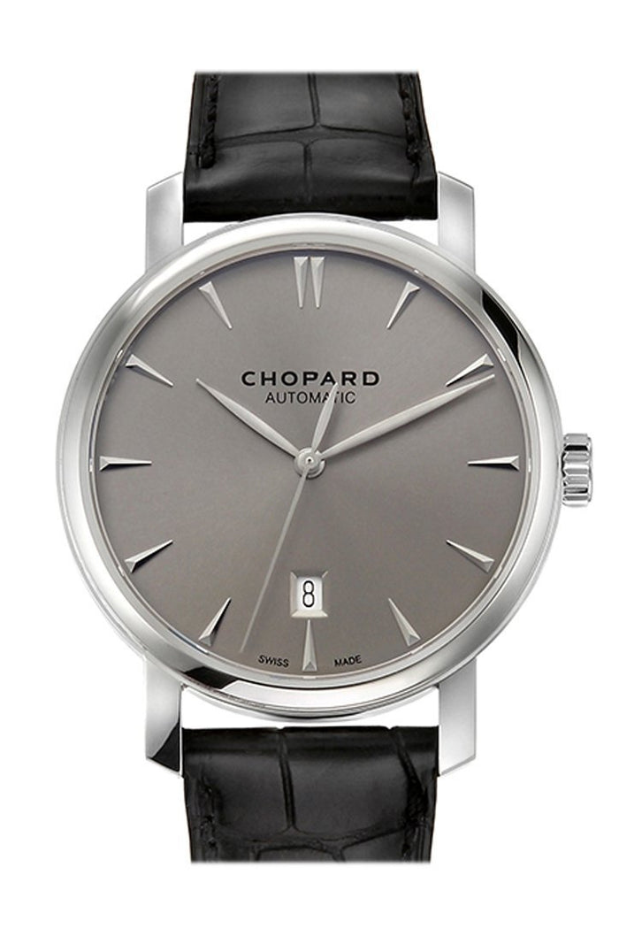 Chopard Classic 33.5mm 18K White Gold Ladies Watch 161278-1004