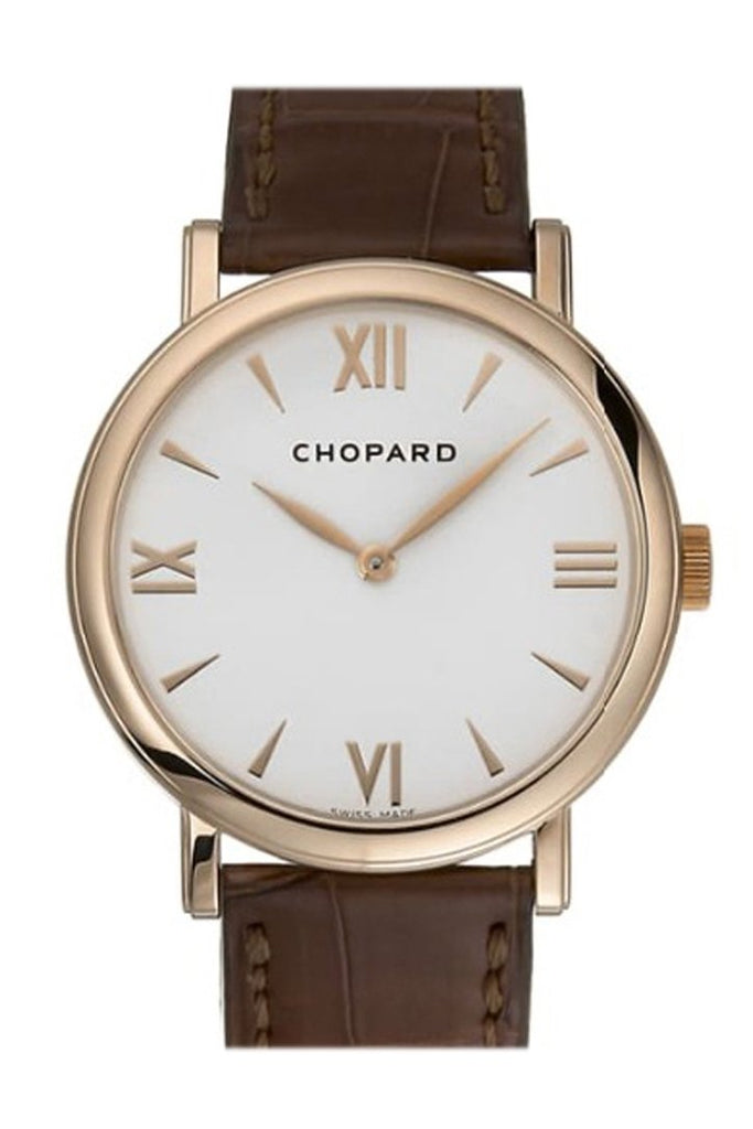 Chopard Classic 36Mm 18-Carat Rose Gold Watch 163154-5201 Silver