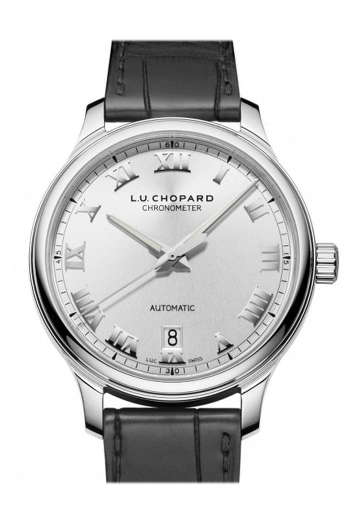 Chopard L.U.C. 1937 Classic 42mm Stainless Steel Men's Watch 168558-3001