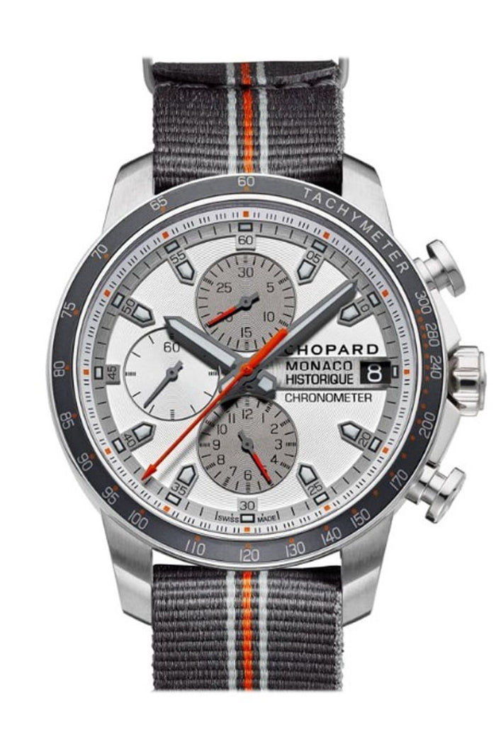 Chopard GPMH 2016 Race 44.5mm Titanium And Stainless Steel Limited Edition Automatic Men's Watch 168570-3002