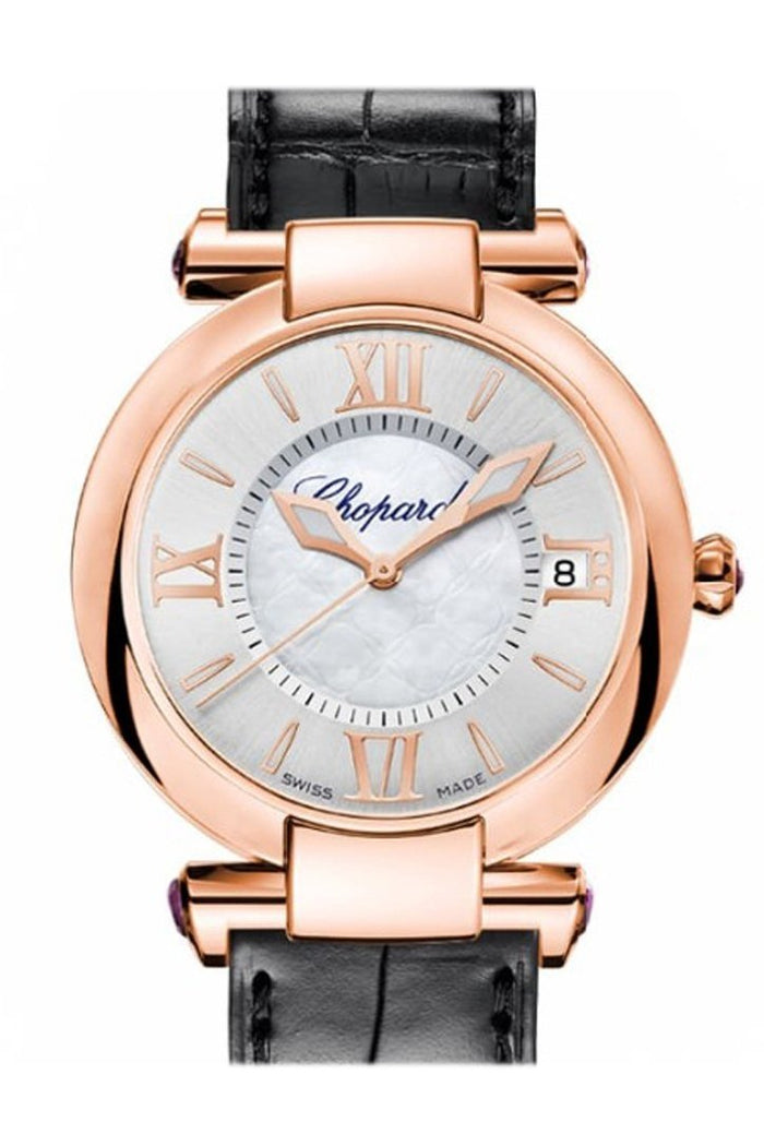 Chopard Imperiale 36mm 18k Rose Gold and Amethysts Watch 384822-5001