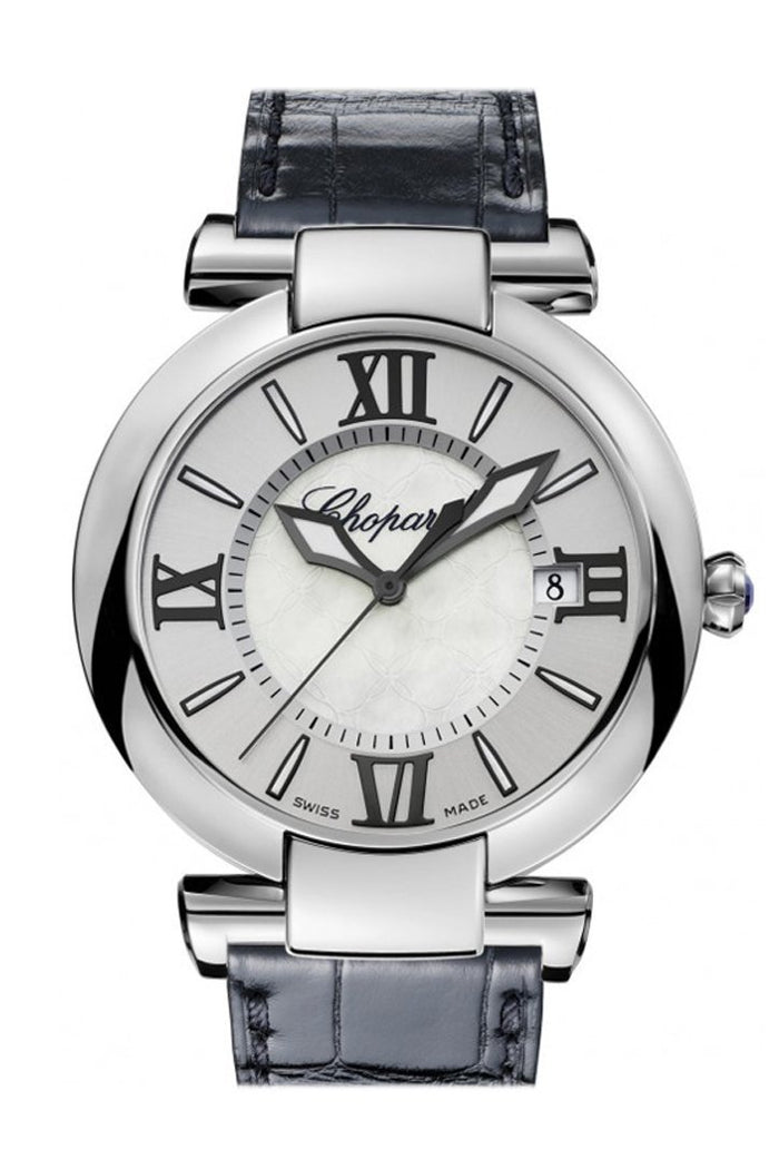Chopard Imperiale 40mm Silver Tone Mother of Pearl Dial Men's Watch 388531-3009