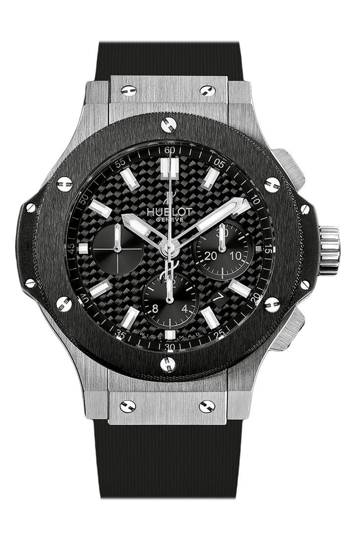 Hublot Big Bang 44mm Evolution Black Carbon Fiber Dial Automatic Chronograph Men's Watch 301.SM.1770.GR