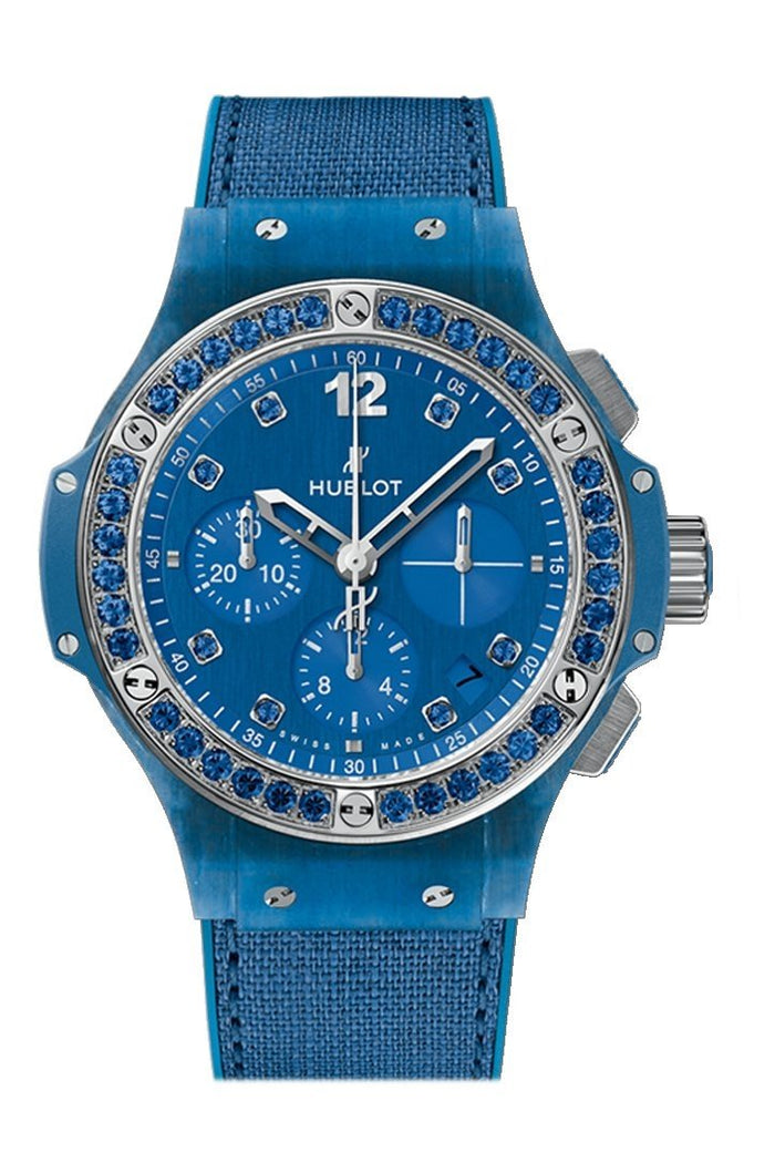Hublot Big Bang 41mm Blue Linen Watch 341.XL.2770.NR.1201