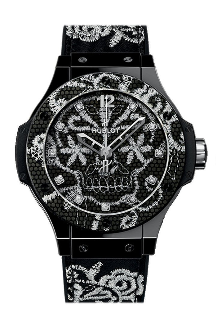 Hublot Big Bang 41mm Broderie Ceramic Watch 343.CS.6570.NR.BSK16